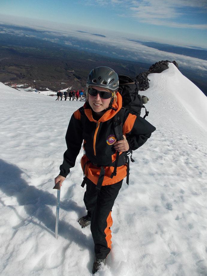 Vulkan-Villarica-Chile