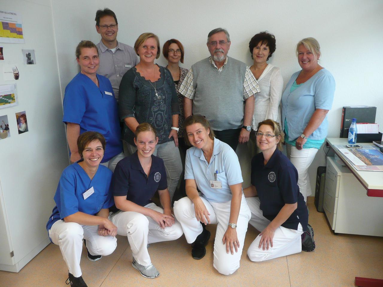 Das Team der Mukoviszidose Ambulanz in Ulm